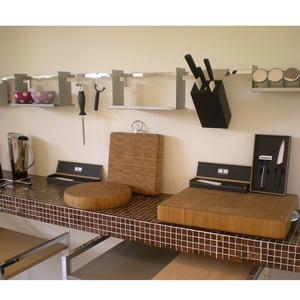 Stilcasa net barre cucina barre cucina e bagno barra - Barra portautensili cucina ...