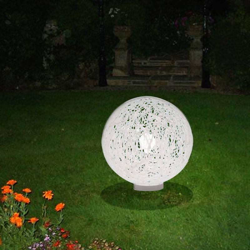 Lampada da appoggio per esterno e giardino RELOAD diametro 55 Bianco  Emporium  Stilcasa.Net ...