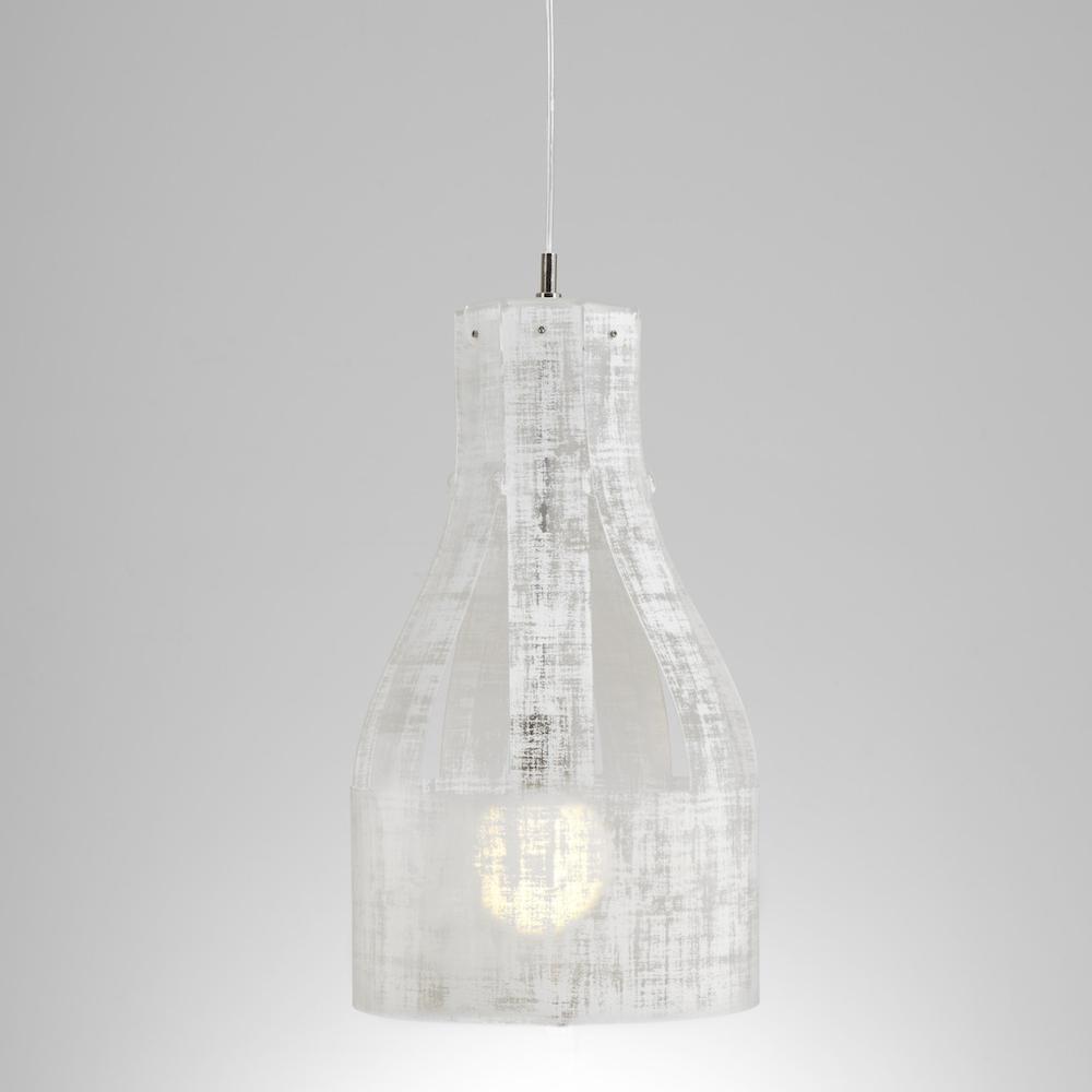 Lampadario a sospensione ATELIER ?30xh56 cm luce Atelier paralume in ...
