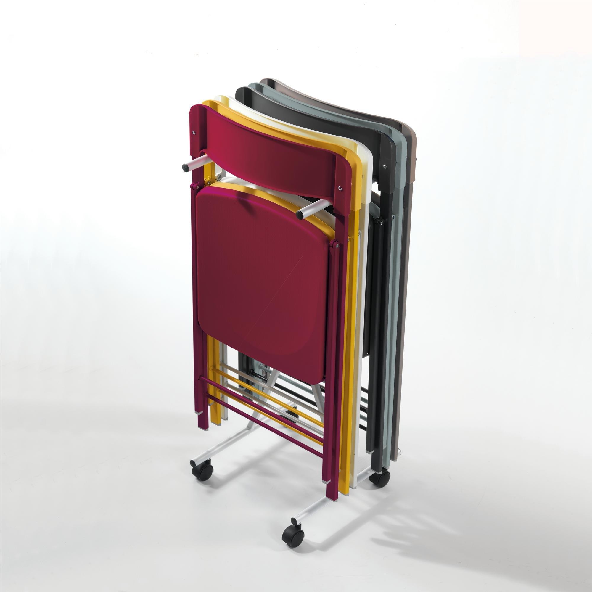 Carrellino porta sedie per sedie richiudibili se01 solo for Sedie richiudibili