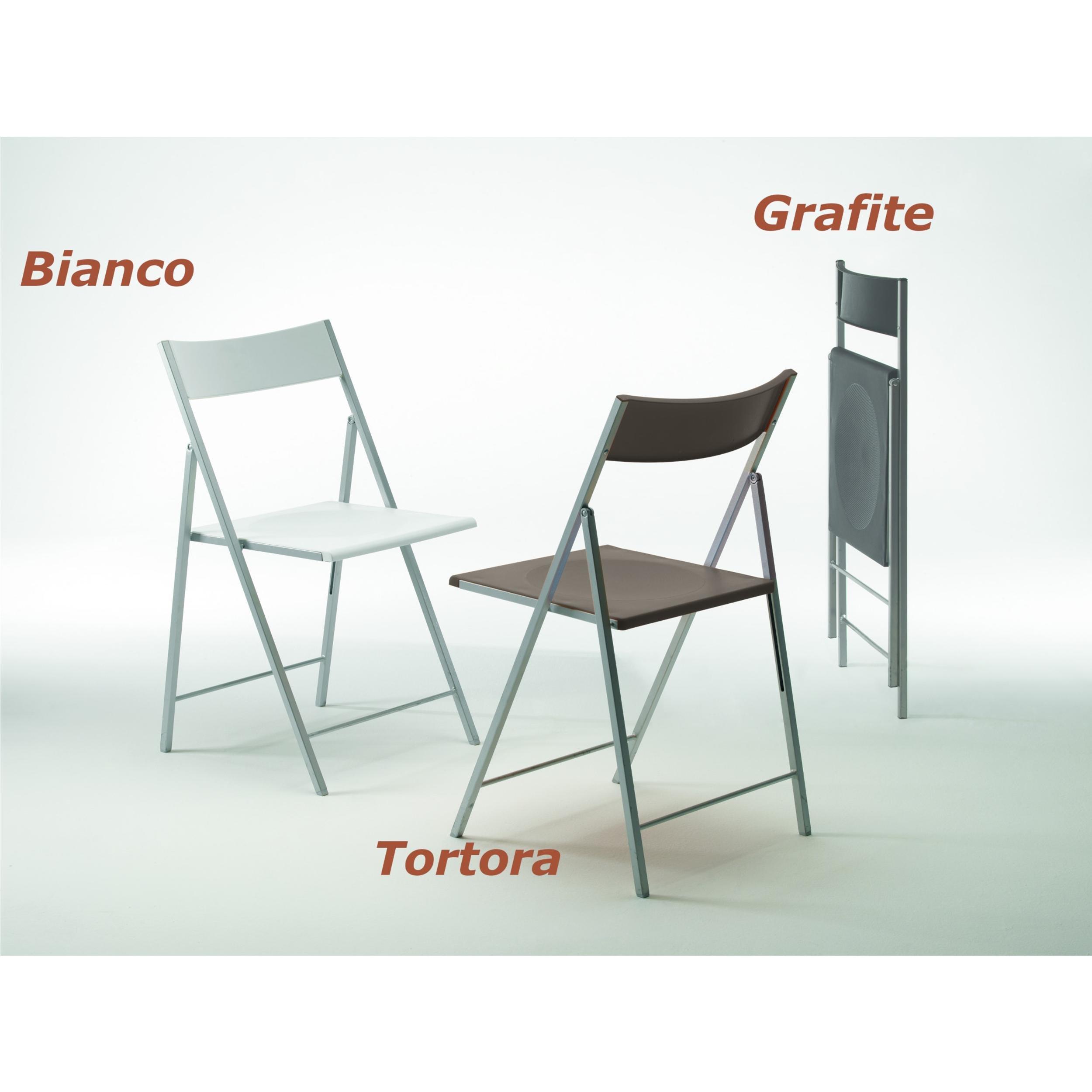 Sedia pieghevole richiudibile con struttura in acciaio for Sedie in alluminio