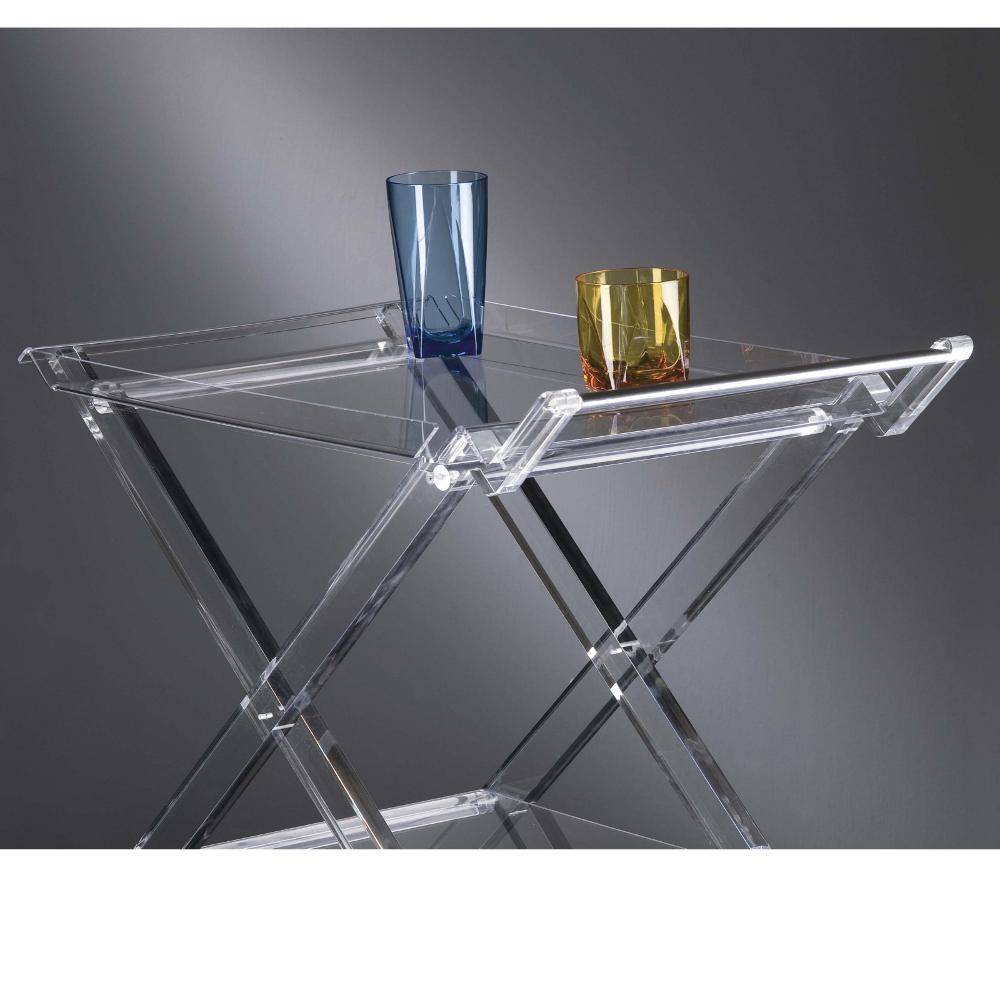 offerte tavoli plexiglass : ... in plexiglas trasparente Vesta Stilcasa.Net: Carrelli Portavivande