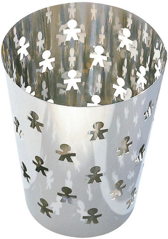 Alessi cestino carta girotondo in acciao inox lucido 1810 for Alessi girotondo prezzo