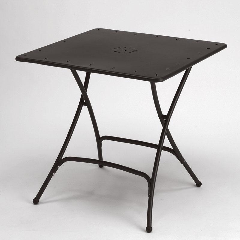 Tavolo pieghevole 80x80 antracite scab giardino s p a for Scab giardino s p a
