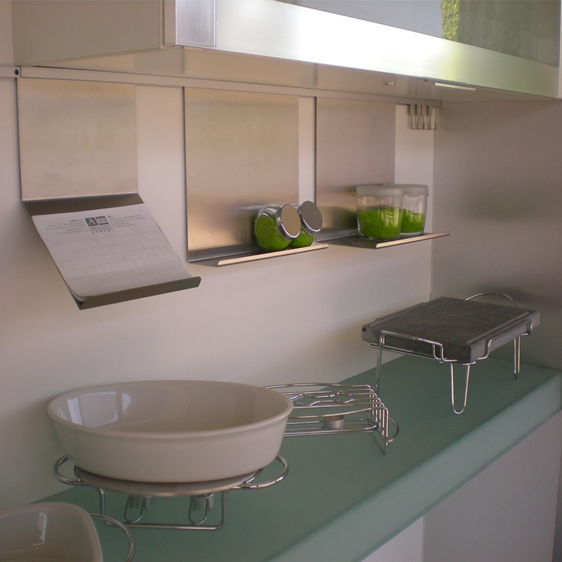 Casa moderna roma italy barra acciaio inox for Accessori casa moderna