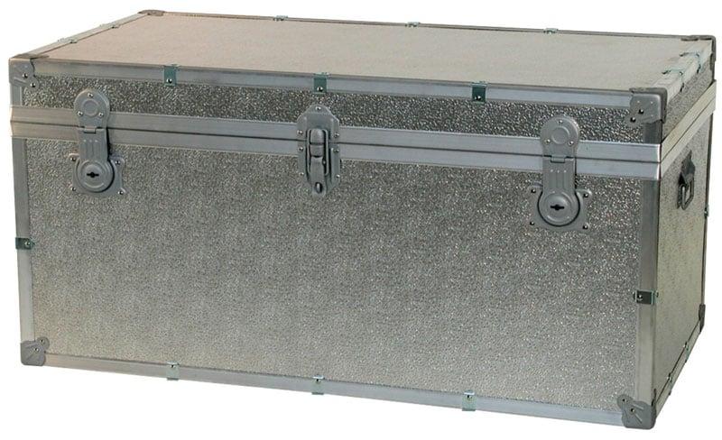 Baule contenitore portabiancheria in legno pressato for Bauli arredamento