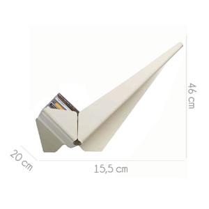 Mensola porta cd da muro 20x15xh48 cm on air vesta - Porta cd da muro ...